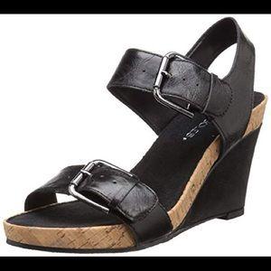 Aerosoles sandals mega plush wedges